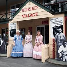 Buried Village, Rotorua, NZ.