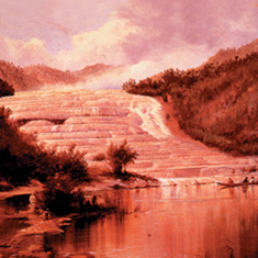 Pink and White Terraces - Rotorua attraction